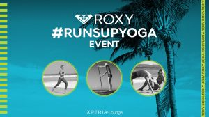 Roxy run sup yogha event