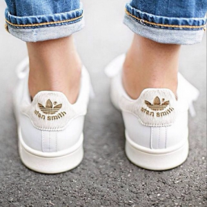 witte Stan Smiths